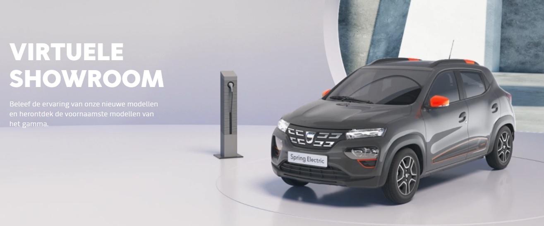 Virtuele showroom Dacia